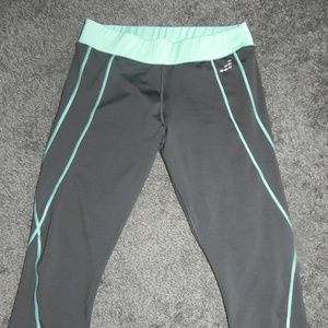 BCG GRAY WORKOUT PANTS TIGHT FITTED