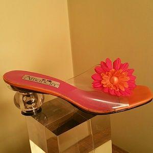 Floral sandals