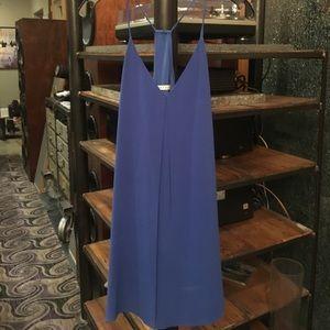 Alice + Olivia blue mini dress