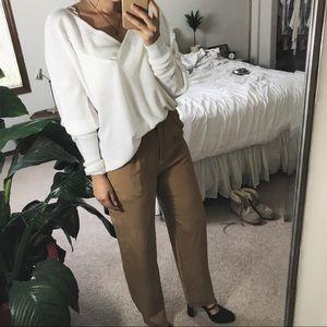 CHARTER CLUB/ silk trouser pant