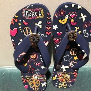 Brand New Tory Burch Flip Flops