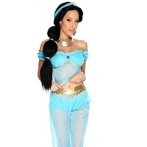 Princess Jasmine Halloween Costume NWT
