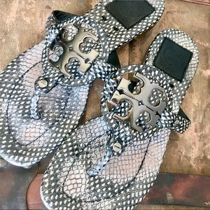 Tory Burch Miller 2 II Snake Polka Dot sandals 6