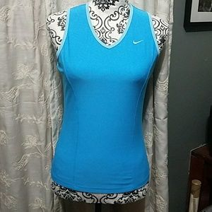Beautifully fitted Nike V-neck tank