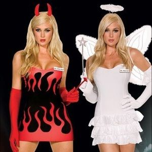 Heaven & Hell reversible costume