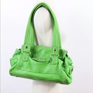Marc by Marc Jacobs Green Leather Shoulder Bag
