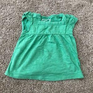 A green top