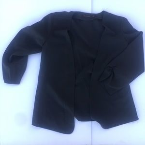 The Limited Gray Charcoal cropped jacket Sz Small