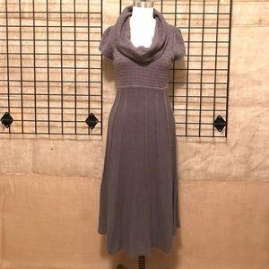 Stunning Cowl-neck Midi Dress
