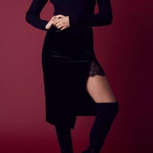 Velvet Lace skirt