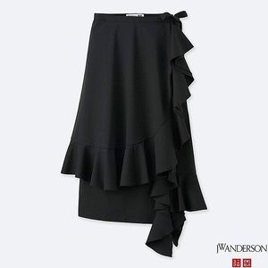 J.W. Anderson and Uniqlo Ruffle Wrap Skirt
