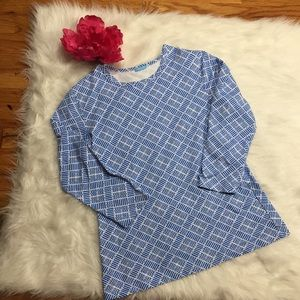 J. McLaughlin Catalina Cloth T-shirt Sz Large