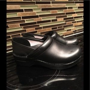 Dansko Black Clogs Size 37