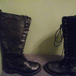 Torrid Combat-Style, Knee Boots