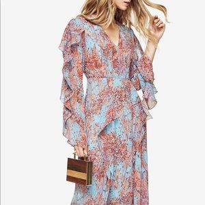 "BCBG Mac Azria ""Kalen"" Floral Print Maxi Dress"