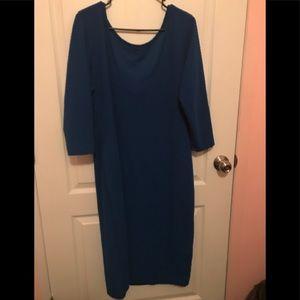 Long fitting dress