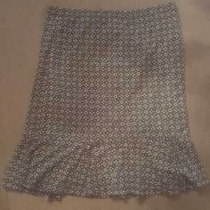 Saghabor Knee Length Skirt