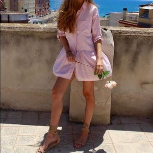 Baby Pink Dress from Zara