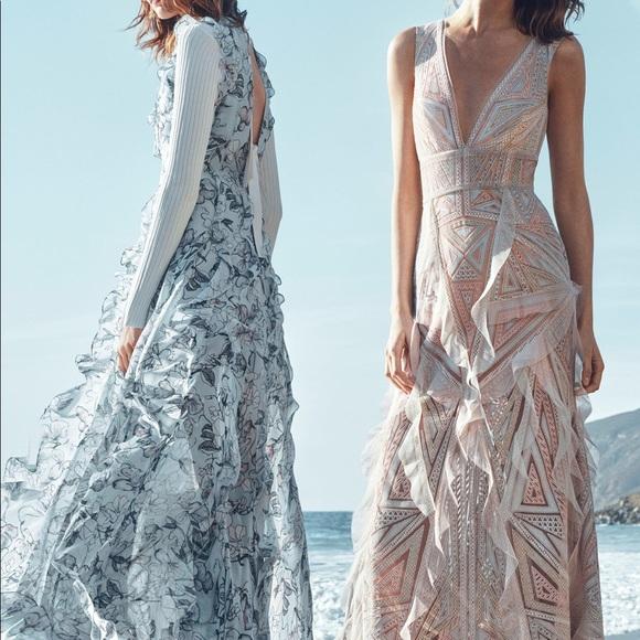 Bcbg max azria sophia necklace gown dresses
