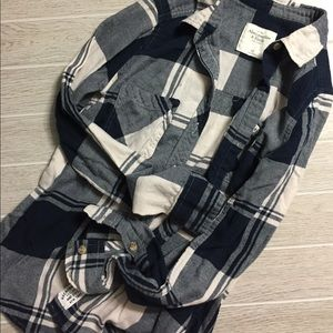 Abercrombie and Fitch heavy flannel size xs