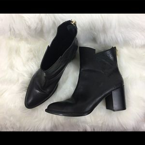 Zara Basic Collection Black Boots, Size 10