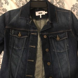 Paige brand denim jacket