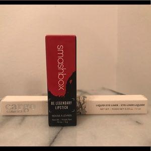 Smashbox Be Legendary Lipstick + Cargo Eye Liner