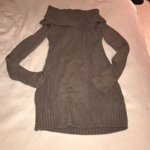 H&M Brown Knit Sweater Dress