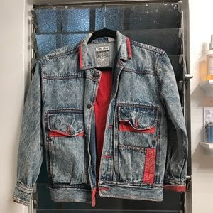 One of a kind vintage denim jacket
