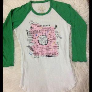 Pink Victoria's Victoria Secret Baseball T Shirt S