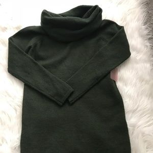 Green Long Sweater