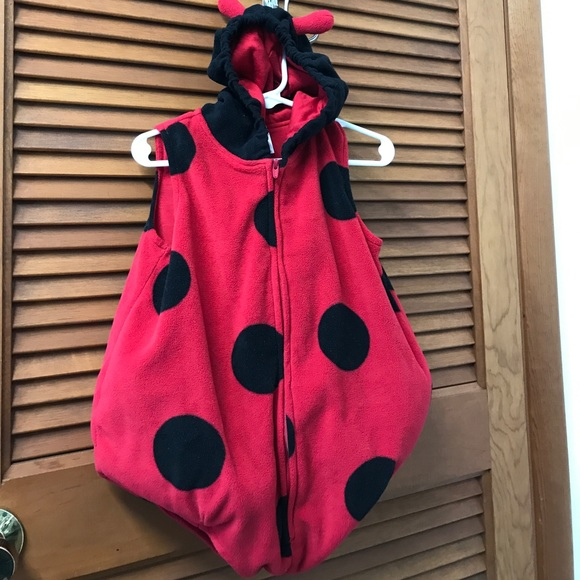 720306b20 Carter's Costumes | Carters Ladybug Costume With Hooded And Antennas ...