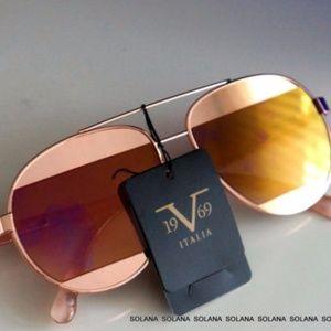 VERSACE 19V69 EVELINA MIRROR Aviator Sunglasses