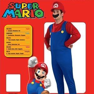 Men's Super Mario Costume