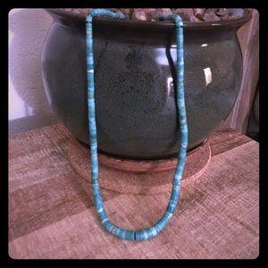 Santo Domingo Natural Turquoise Necklace