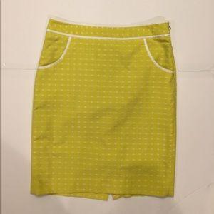 Lime skirt