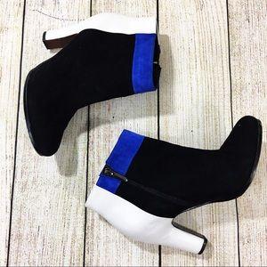 SAM EDELMAN Shay Color Block Boots