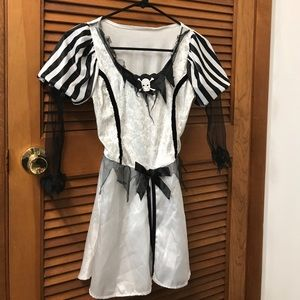 Punky Pirate Dress Costume