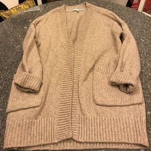 Victoria's Secret sweater tan L