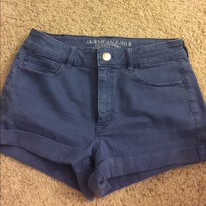 American Eagle high-rise shortie