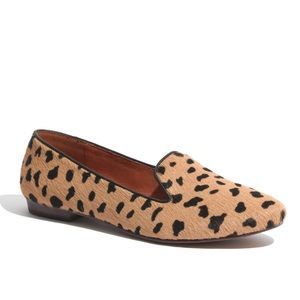 Madewell Teddy Loafer-Cal Hair in Truffle Shade