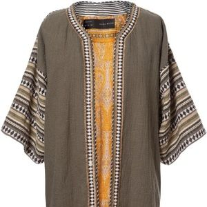 Combination rustic frock coat