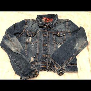 Rue 21 Cropped Denim Jacket