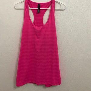 bright pink workout tank *Never Worn*