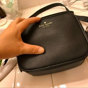 Kate spade cross body leather bag!
