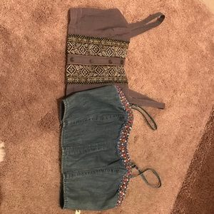 Two for the price of One Crop Tops Bundle