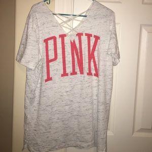 NWOT Victoria's Secret PINK Tshirt size L