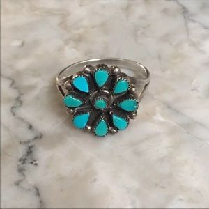 Native American Zuni Turquoise Ring