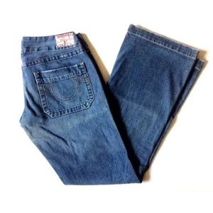 True Religion Jeans Flare Cut Sammy size 30