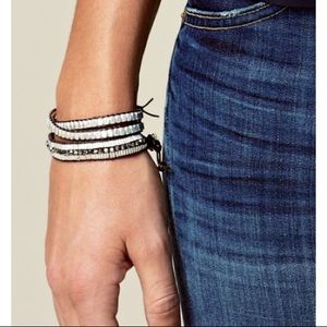 Stella & Dot Nugget Wrap Bracelet